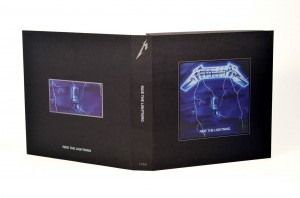 metallica ride the lightning box