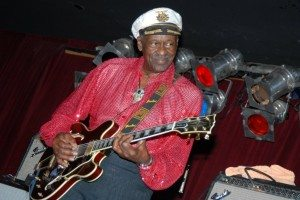 Chuck Berry performs at BB Kings