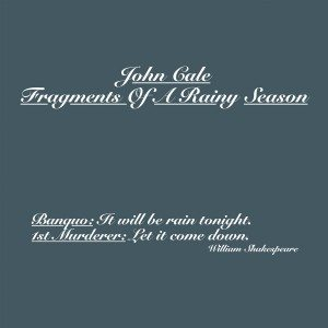 john cale fragments of a rainy