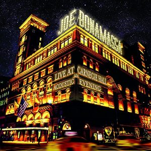 Joe Bonamassa Live At Carnegie Hall An Acoustic Evening