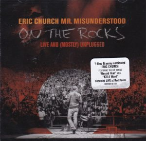 eric church mr. misunderstood on the rocks