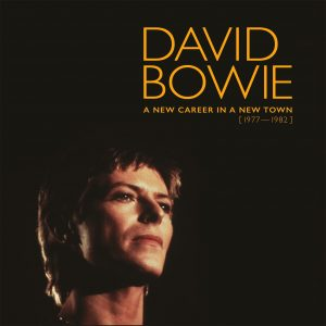 david bowie a new career in a new town front