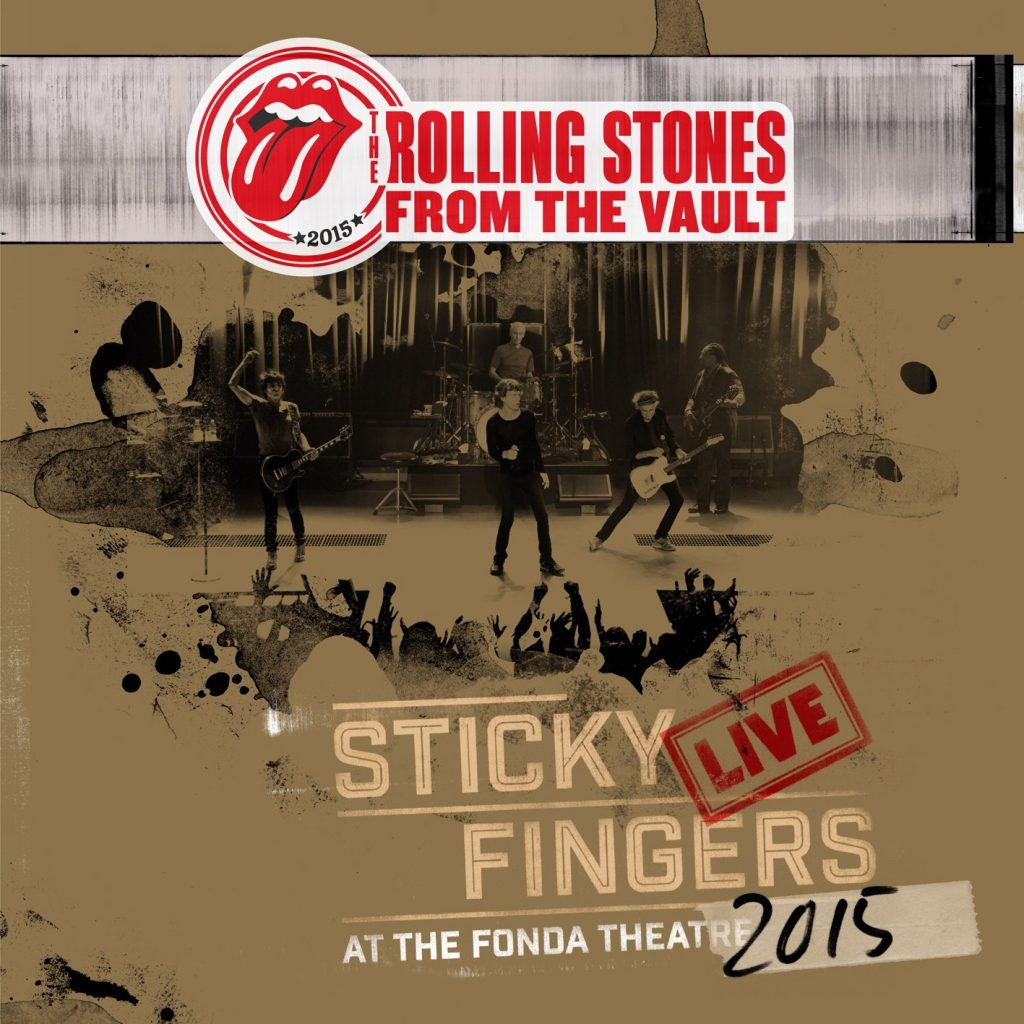rolling stones sticky fingers at the fonda theatre cd+dvd