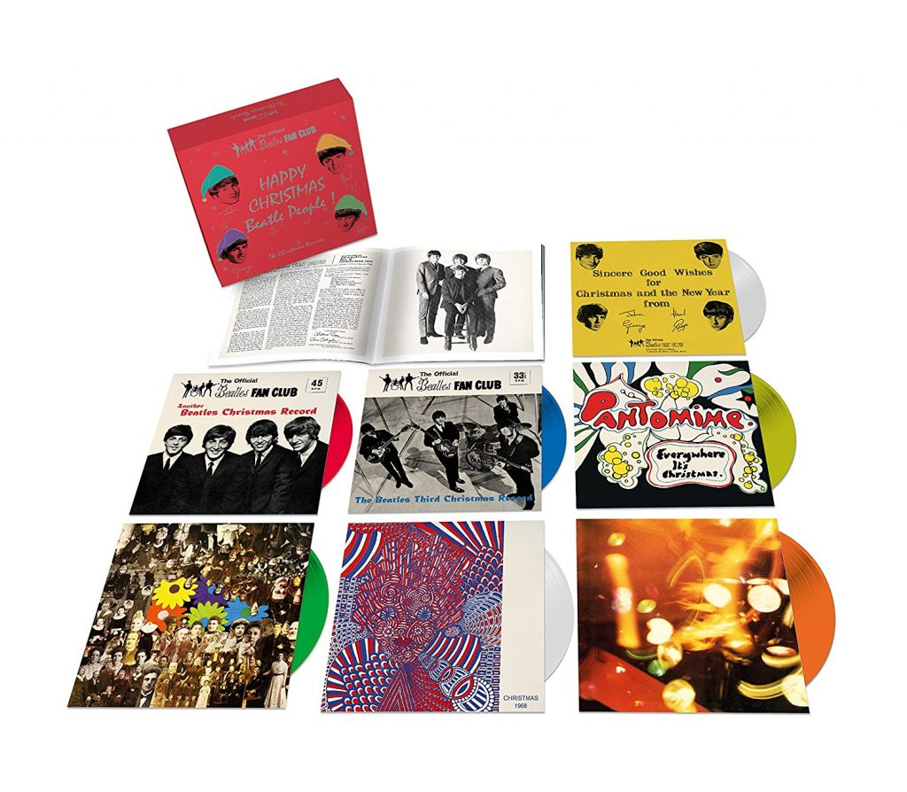 "E Dopo Gli Stones, Quasi Inevitabilmente, Ecco i Beatles ""Natalizi"": Cofanetto The Christmas Records + Vinile Picture Di Sgt. Pepper"