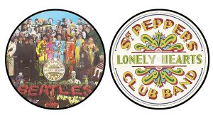 beatles sgt, pepper picture disc