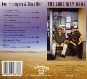 tom principalo & steve wolf the long way home back