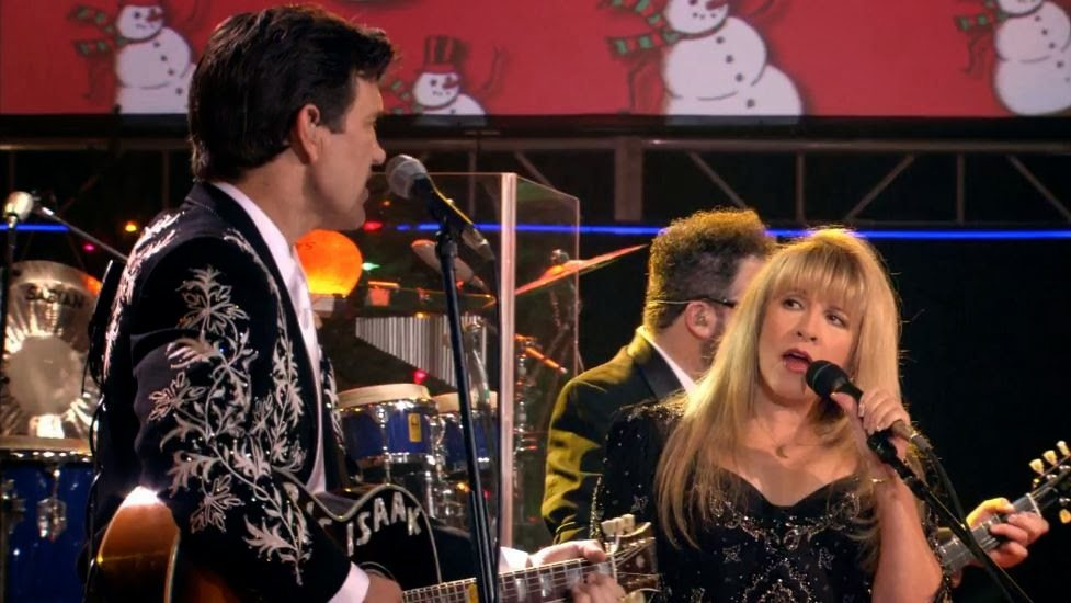 Chris Isaak Christmas with Stevie Nicks f