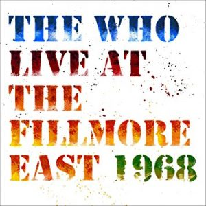 who live at the fillmore east 1968
