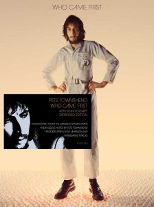 pete townshend who came deluxe