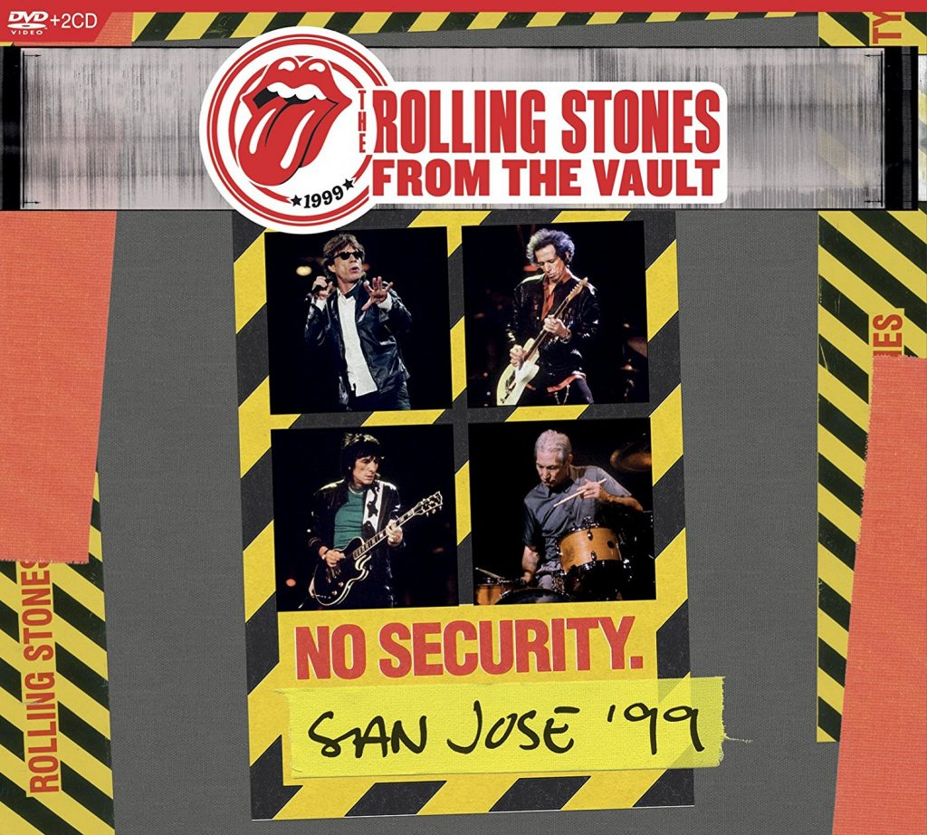 rolling stones no security '99 cd+dvd