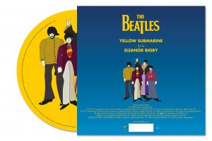 beatles yellow submarine picture back