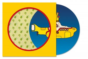 beatles yellow submarine picture front