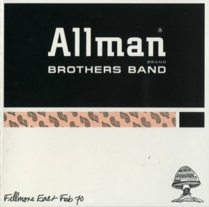 allman brothers fillmore east february 1970 prima copertina
