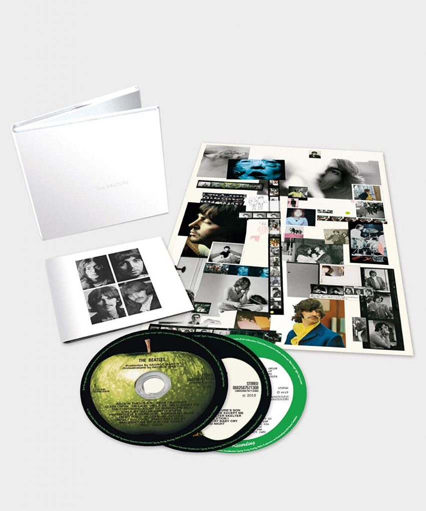 beatles white album 3 cd