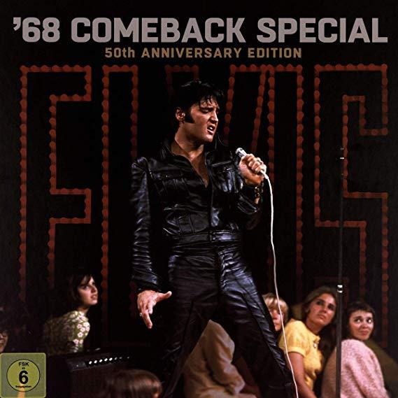 elvis presley '68 comeback special front