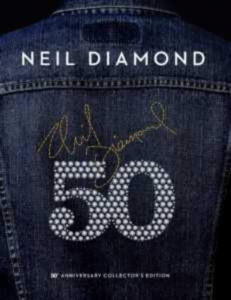 neil diamond 50th anniversary collector's edition
