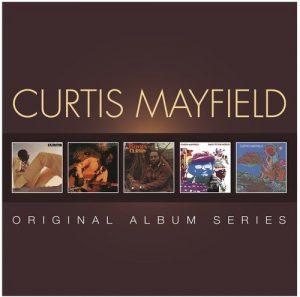 curtis mayfield original series box 5 cd