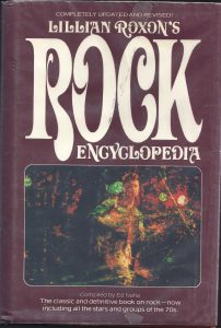 lillian roxon rock encyclopedia inglese