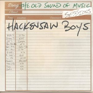 hackensaw boys old sound