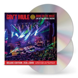 gov't mule bring on the music 2 cd 2 dvd