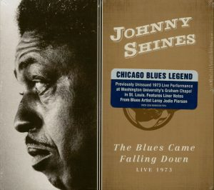 johnny shines the blues came falling down front