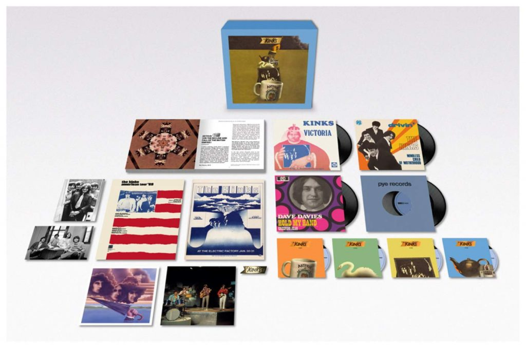 kinks arthur box 50th anniversay
