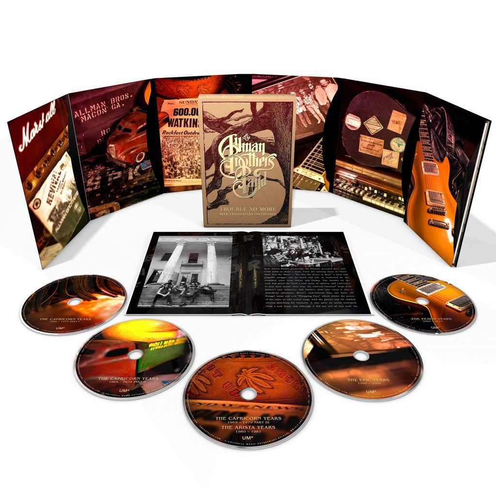Novità Prossime Venture 2020 2. The Allman Brothers Band Trouble No More 50th Anniversary Collection 5CD box Set: Esce Il 28 Febbraio, Il Solito Anniversario,