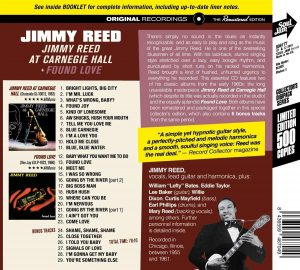 jimmy reed at carnegie hall back