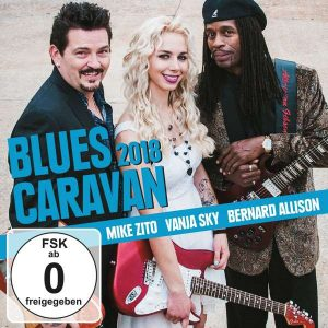 mike zito vanja sky bernard allison blues caravan 2018