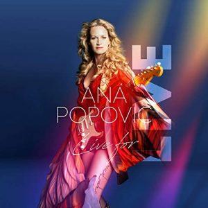 I Dischi Dal Vivo Le Piacciono Molto, E Li Fa Decisamente Bene. Ana Popovic - Live For LIVE