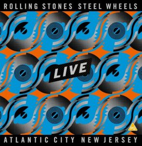 Rolling Stones - Steel Wheels Live Atlantic City, New Jersey, 1989 front