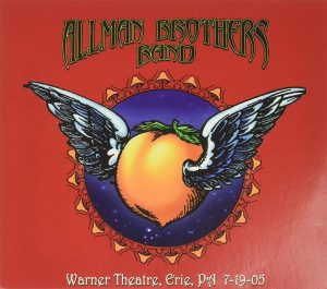 allman brothers band warner theatre erie 7-19-05