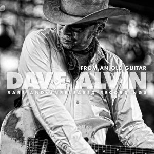dave alvin from an old guitar