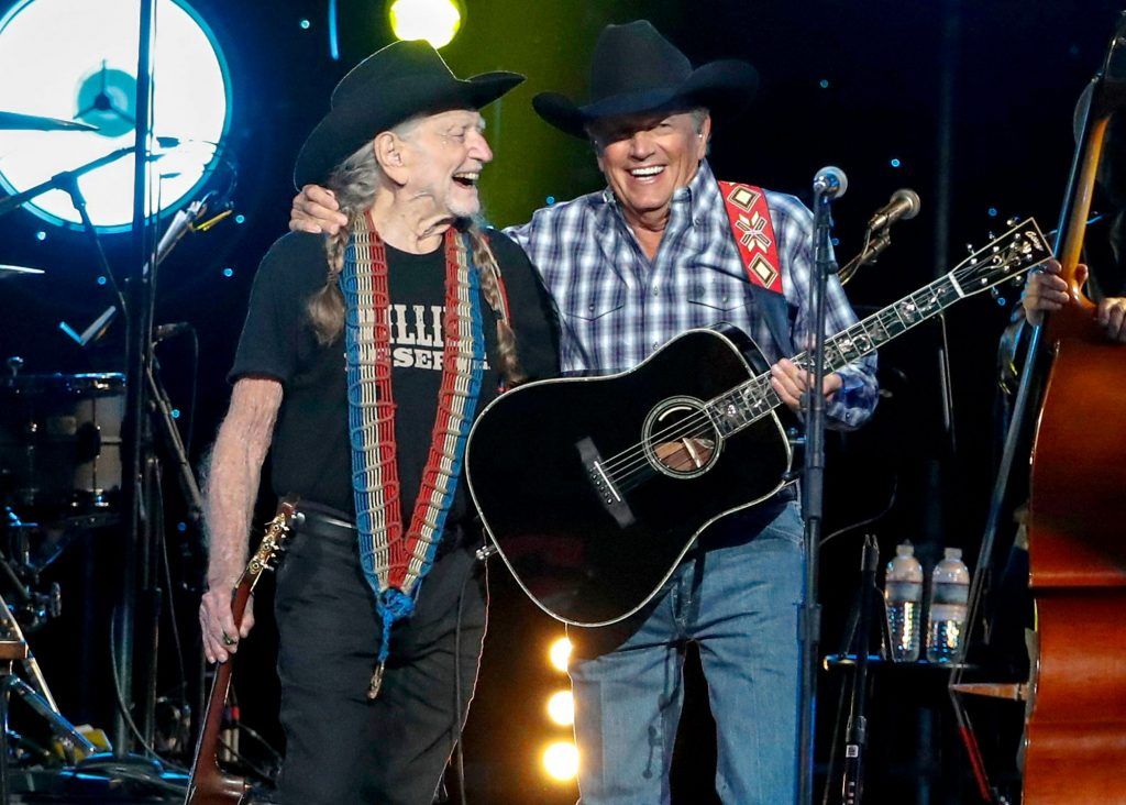 willie-nelson george strait