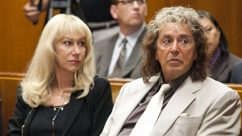 Helen Mirren and Al Pacino star in the new HBO film Phil Spector, which was written and directed by David Mamet.