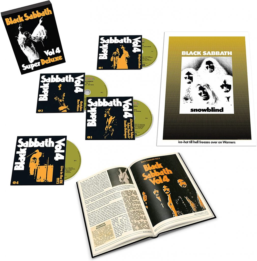 black sabbath vol.4 super deluxe box
