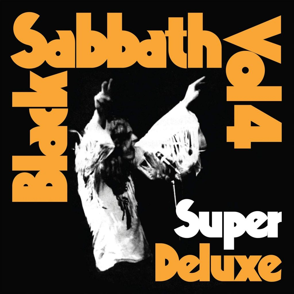 black sabbath vol.4 super deluxe front