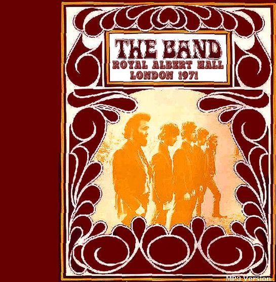 the band royal albert hall 1971
