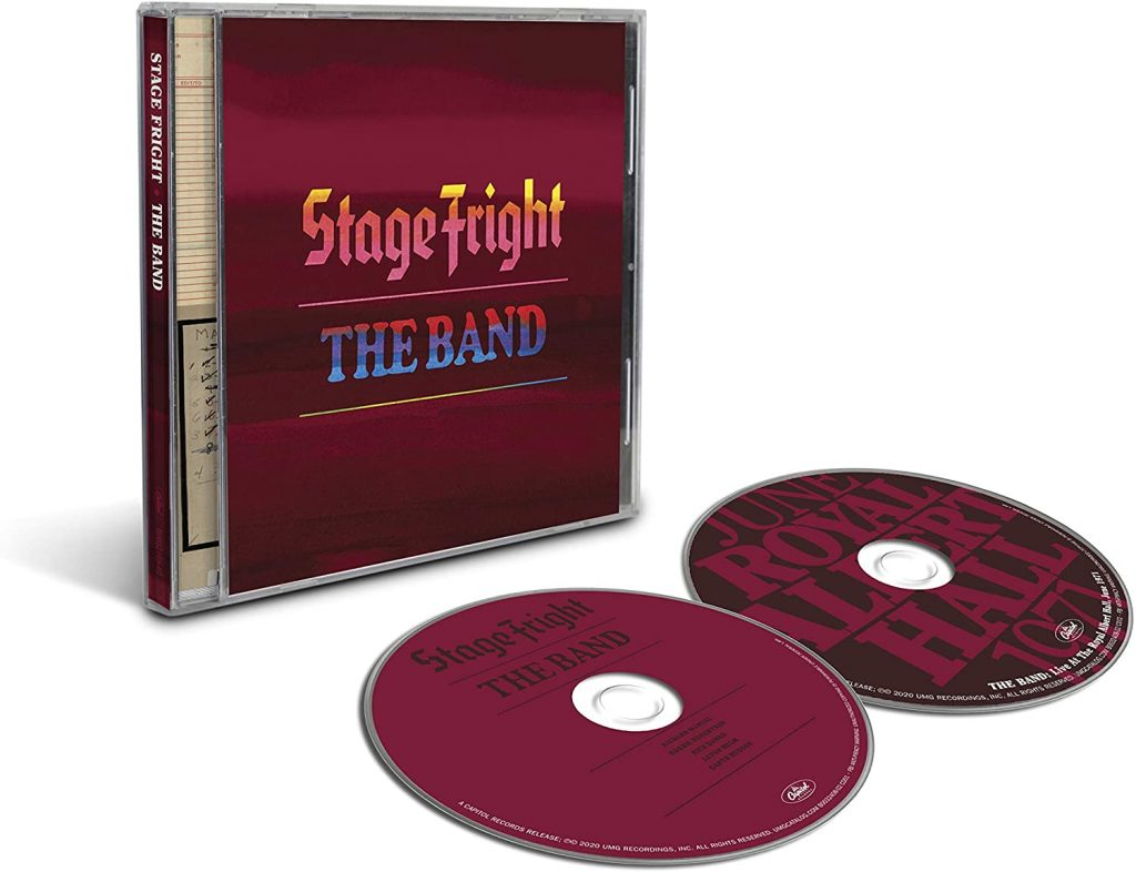 the band stage fright 50 anniversary 2 cd
