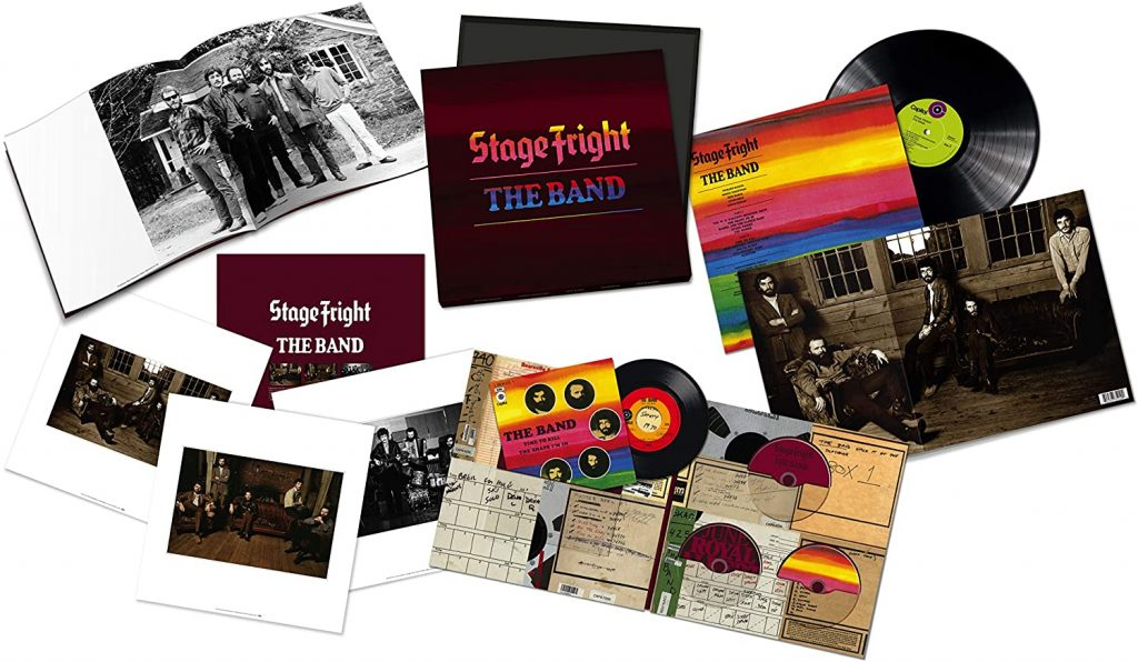 the band stage fright 50 anniversary box set