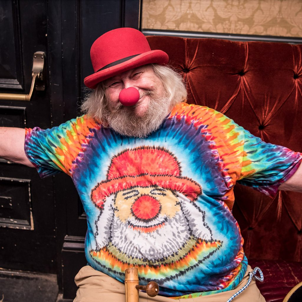 Wavy Gravy photographed at The Seva Benefit at The Sweetwater Music Hall in Mill Valley, CA May 15, 2016 Credit: Jay Blakesberg
