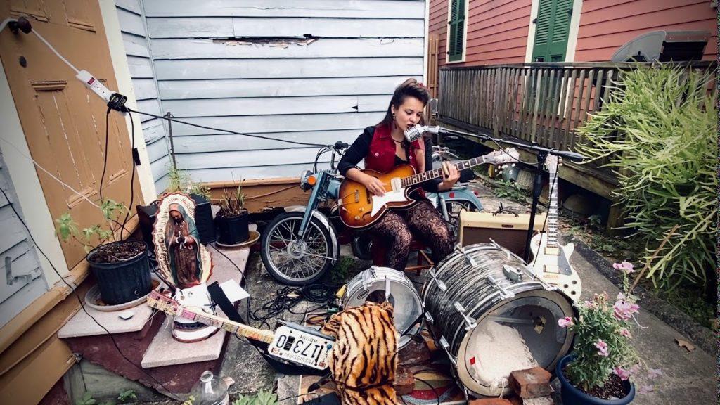 ghalia volt one woman band 2