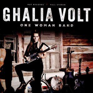 ghalia volt one woman band