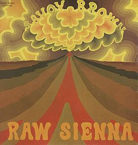 savoy brown Raw_Sienna