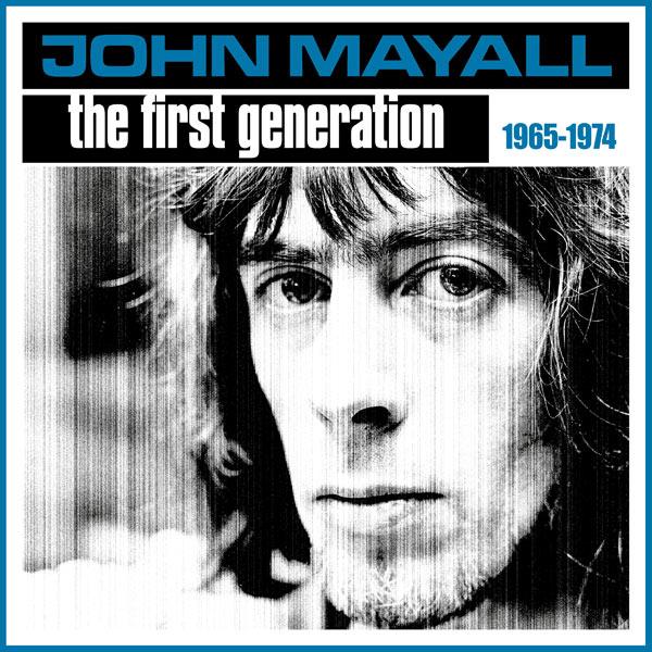 john mayall first generation front