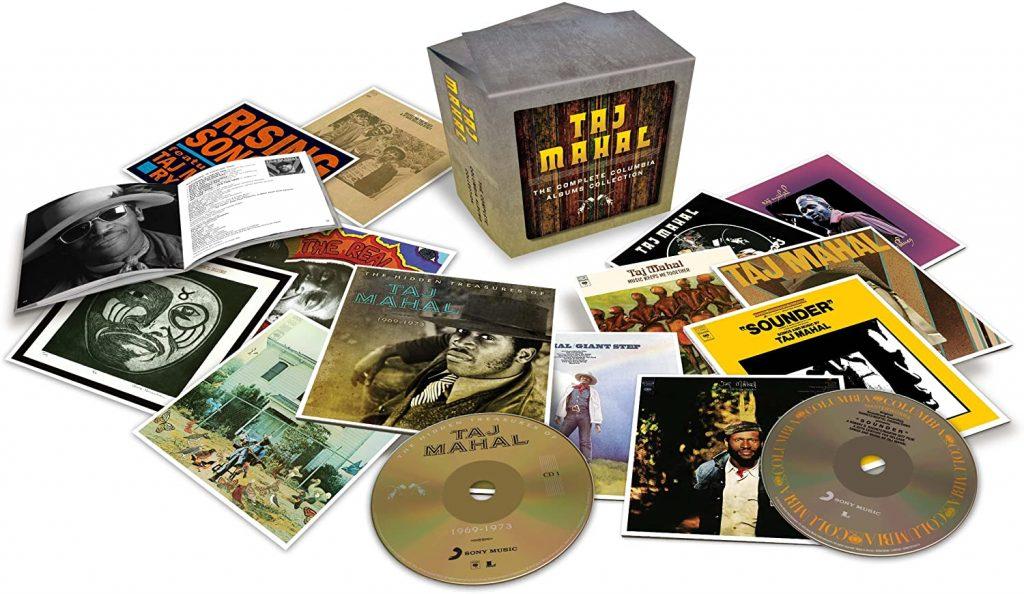 taj mahal complete columbia album box